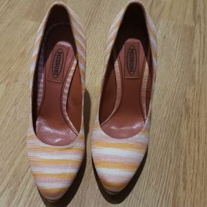 Missoni Multi Color Heels Shoes size 6.5